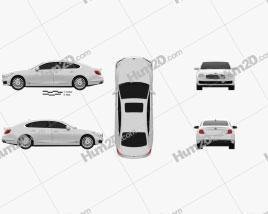 Kia K900 2019 car clipart