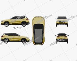 Kia SP Signature 2019 car clipart