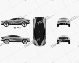 Kia Futuron 2019 car clipart