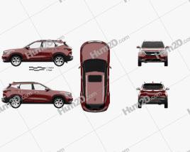 Kia Seltos GT-Line 2019 car clipart