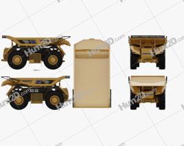 Komatsu AHS Dump Truck 2016