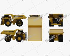 Komatsu 830E Dump Truck 2019