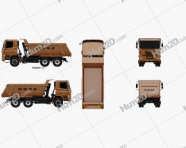 KrAZ C20.2 Dumper Truck 2011 clipart