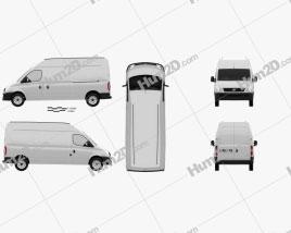 LDV Maxus Panel Van 2004 clipart