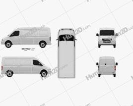 LDV V80 L2H2 Panel Van 2013 clipart