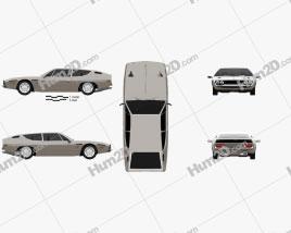 Lamborghini Espada 1968-1978 car clipart