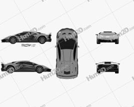 Lamborghini Aventador LP 750-4 Mansory Superveloce JS1 Edition 2016