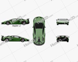 Lamborghini Aventador SVJ coupe 2019