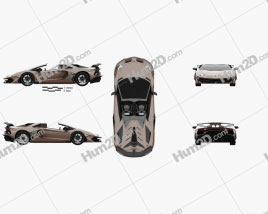 Lamborghini Aventador roadster SVJ 2019