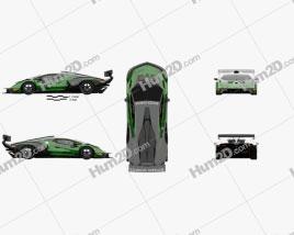 Lamborghini Essenza SCV12 2021