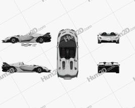 Lamborghini SC20 2020 car clipart