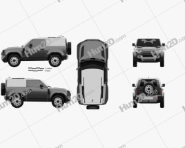 Land Rover Defender 90 HardTop 2020