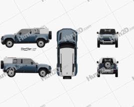 Land Rover Defender 110 HardTop 2020