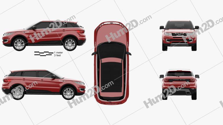 Landwind X7 2015 car clipart