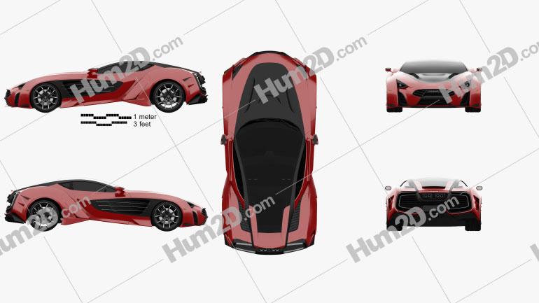 Laraki Epitome 2013 car clipart