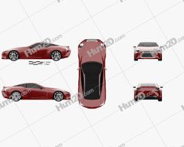 Lexus LF-LC 2012 car clipart