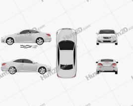 Lexus IS C (XE20) 2012 car clipart