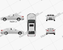 Lexus GS F Sport hybrid (L10) with HQ interior 2012