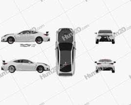 Lexus RC F-Track Edition US-spec 2020