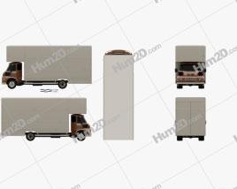 Leyland FG Box Truck 1968