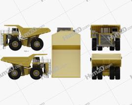 Liebherr T 282B Dump Truck 2012