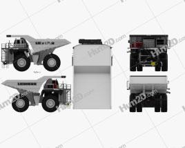 Liebherr T 264 Dump Truck 2012