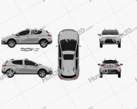 Lifan X50 2014 car clipart
