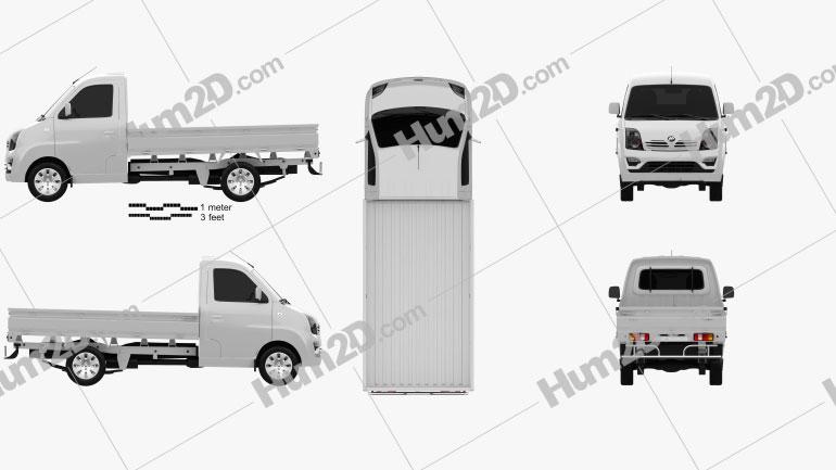 Lifan Foison Truck 2016 clipart