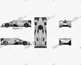 Ligier JSP217 2017 Clipart