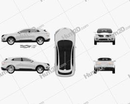 Lincoln MKC 2013 car clipart