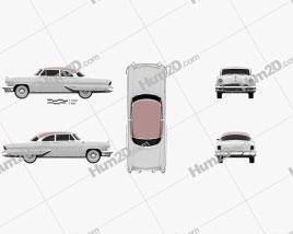 Lincoln Capri Hardtop Coupe 1955