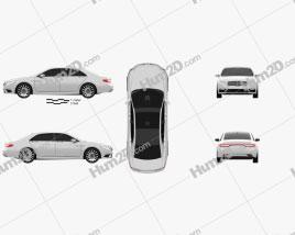 Lincoln Continental 2017 car clipart