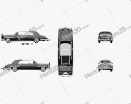 Lincoln Cosmopolitan Presidential Limousine 1950