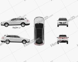 Lincoln MKT 2017 car clipart