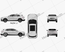Lincoln Nautilus 2019 car clipart
