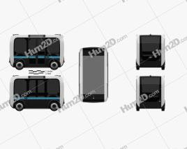 Local Motors Olli Bus 2016 Clipart