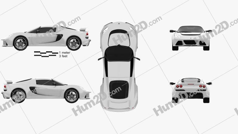 Lotus Exige S 2012 Clipart Image