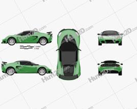 Lotus Elise Cup 250 2017 car clipart