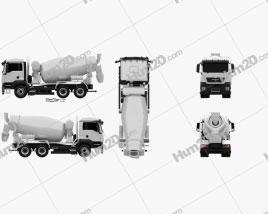 MAN TGS Mixer Truck 2012