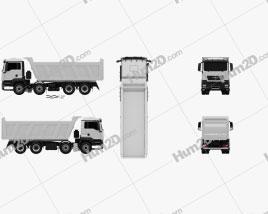 MAN TGS Tipper Truck 2012