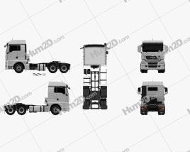 MAN TGX Tractor 2012