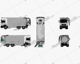 MAN F2000 Sewer Truck 1994