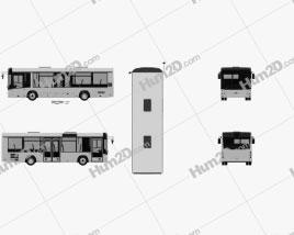 MAZ 226069 Bus 2016