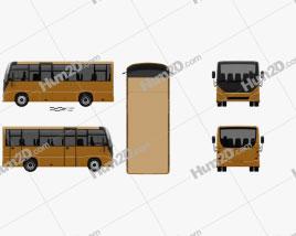 MAZ 241030 Bus 2016