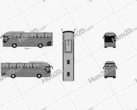 MAZ 251062 Bus 2016
