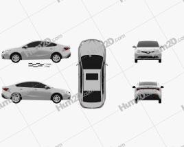 MG GT 2015 car clipart