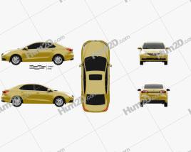 MG 360 2017 car clipart