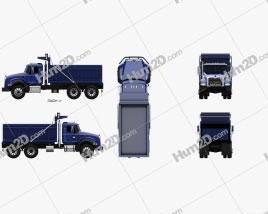 Mack Granite Dump Truck 2002