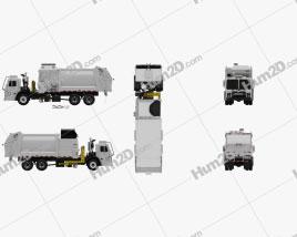 Mack LR LEU613 Garbage Truck Heil 2015