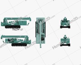 Maeda MC355 Crawler Crane 2016